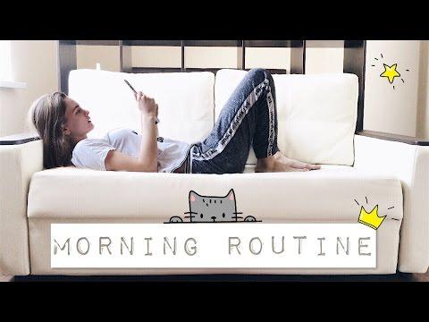 МОЕ УТРО ВЕСНОЙ - СОБИРАЙСЯ СО МНОЙ My Spring Morning Routine