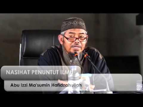 [LIVE] DAURAH KITAB Pemateri  :  Ustadz ABU IZZI MASMU'IN