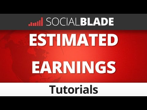Social Blade Estimated Earnings Explained - Social Blade YouTube Tips 39