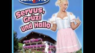 Schnitte Servus Grüzi Und Hallo