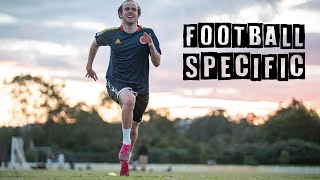 Football Specific Fitness Training Session