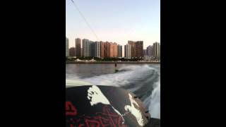 Ronnie Cheung wakeboarding 2012