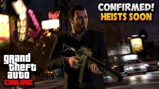 GTA 5 Online Heist - Confirmed Heist Online Release Date In Upcoming Weeks (GTA 5 Online Gameplay)