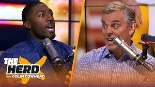 Pats WRs feel pressured playing with Brady, talks Rodgers future, Browns — Jennings | NFL | THE HERD