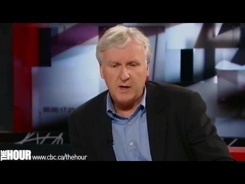 James Cameron on The Hour with George Stroumboulopoulos