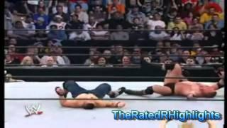 Backlash 2003-John Cena Vs Brock Lesnar Highlights HD