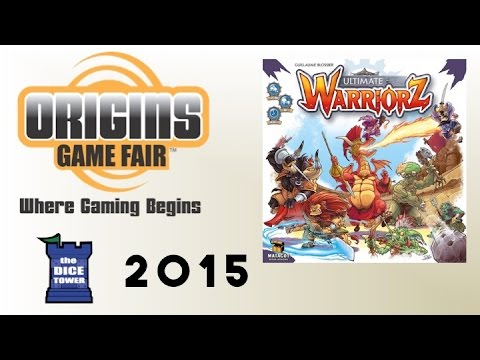Origins Summer Preview:  Ultimate Warriorz