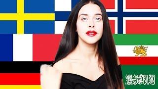 Girl Speaks 20 Languages
