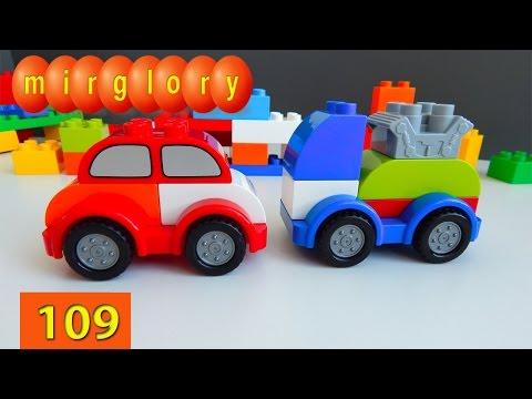 Машинки Лего мультики Трансформеры Город машинок 109 серия Мультфильмы для детей конструктор