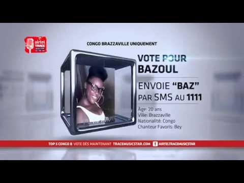 Top 5 Airtel TRACE Music Star Congo Brazzaville