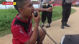 Dirigen Komandoi Pakai Mikrofon Polisi - SPFCxPERSITA