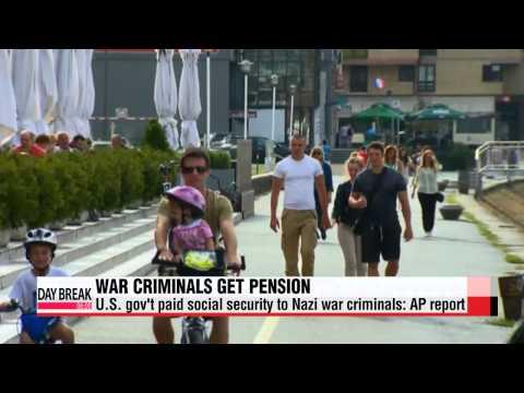 U.S. gov′t paid social security to Nazi war criminals: report