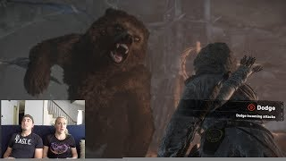 Rise of the Tomb Raider | Game Play: Episode 3 | 'Siberia & Bear Fighting'