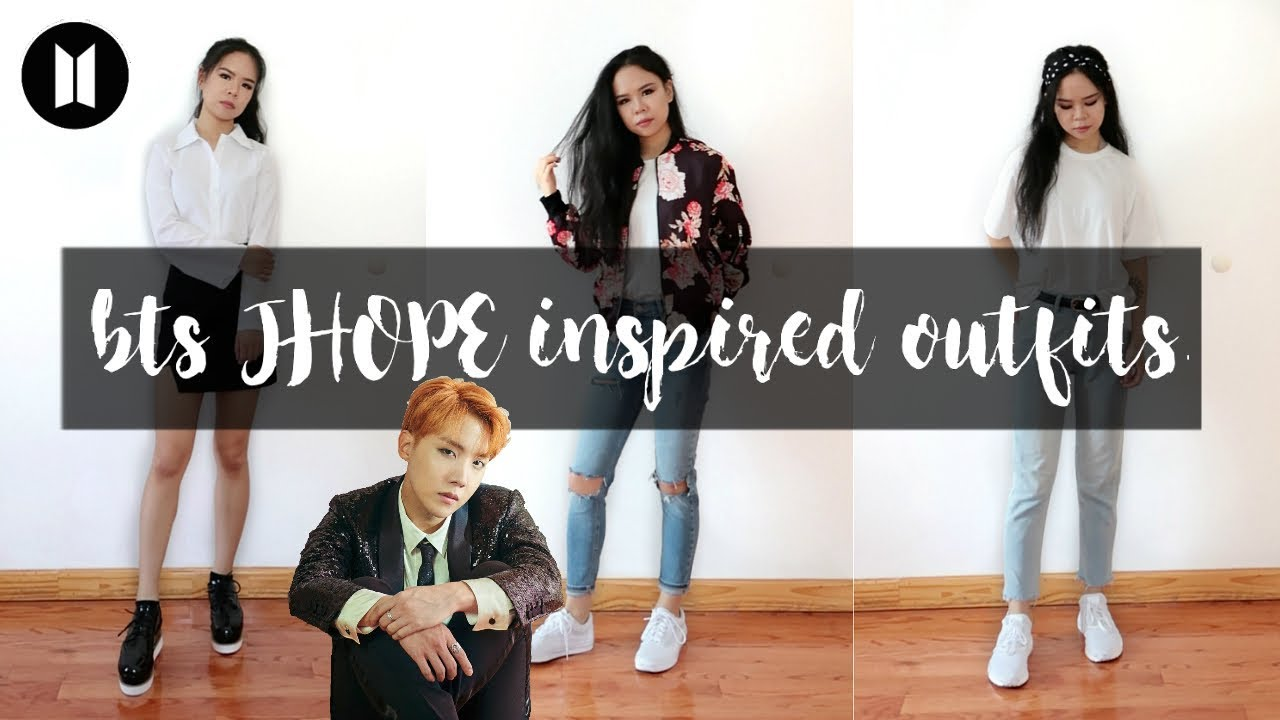 BTS INSPIRED OUTFITS PT.2 // J-HOPE