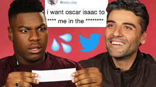 Download Lagu John Boyega and Oscar Isaac Read Hilarious Thirst Tweets Gratis STAFABAND