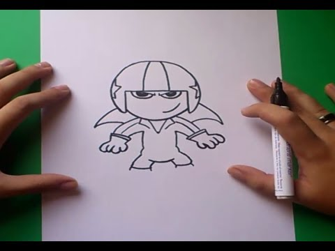 Como dibujar a Kick Buttowski paso a paso - Kick Buttowski | How to draw Kick Buttowski