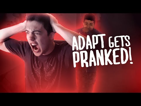 FAZE ADAPT GETS PRANKED!!