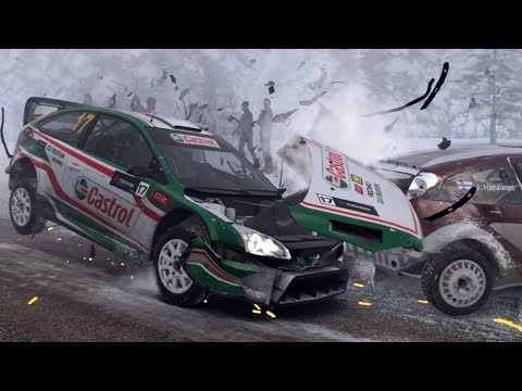 DiRT 4 - Crash Compilation #2 (PC HD) [1080p60FPS]
