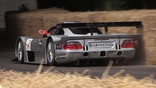Goodwood Festival of Speed 2018: Best of Day 2 - CLK LM, BRM V16, Golf Bi-Motor, 917K
