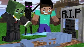 Monster School : RIP Wither Skeleton with Granny - Minecraft Animation