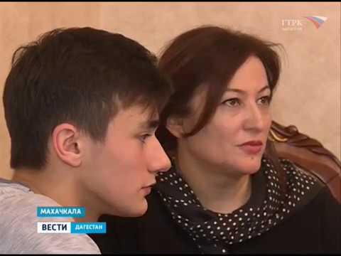Дагестанский школьник говорит на китайском языке  07.03.18 г