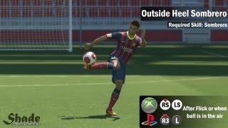 PES 2014 Tricks & Skills Tutorial   Xbox & Playstation   HD