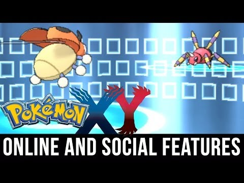 Pokemon X and Y - Online and Social Features Explained