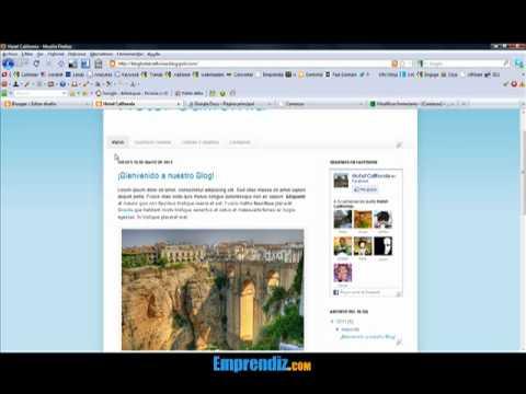 Cómo Colocar una Página de Inicio en Blogger