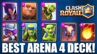 CLASH ROYALE | BEST ARENA 4 (Pekka's Playhouse) DECK! | EASY WINS! | Beat Higher Level Opponents!