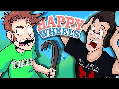 Happy Wheels w Markiplier (Part 1)