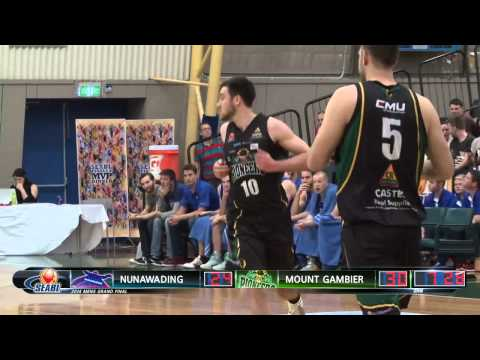 2014 SEABL Men's Grand Final Highlights