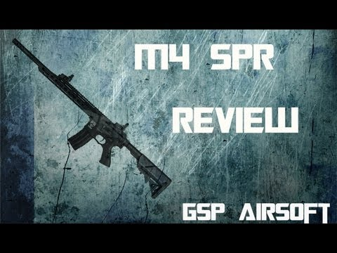 M4 SPR Softair Review (GsP Airsoft) GERMAN