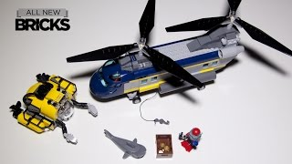 Lego City 60093 Deep Sea Helicopter Speed Build