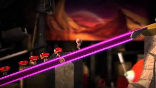 LittleBigPlanet 2 - PS3 - Sackbots official video game preview trailer HD