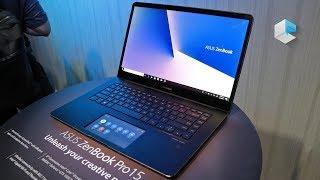 ASUS Zenbook Pro 15 UX580GE con ASUS ScreenPad e Intel Movidius VPU - ITA