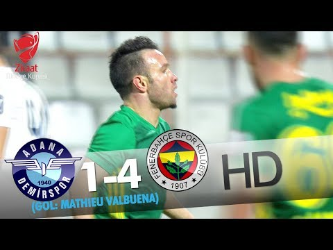 Adana Demirspor: 1 - Fenerbahçe: 4 | Gol: Mathıeu Valbuena