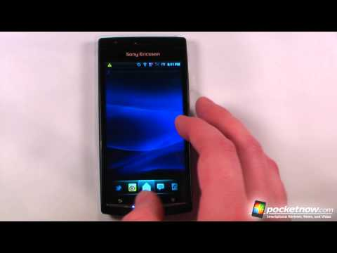 Video: Sony Ericsson Xperia Arc Software Review