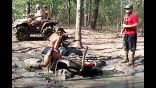 BAD MUD FOR 4X4 GIRL BUT GREAT AMPHIBIOUS ARGO 6X6 VIDEO.avi