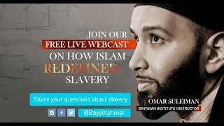 Video: Slavery in Islam: A Past and Present Tragedy - Omar Suleiman