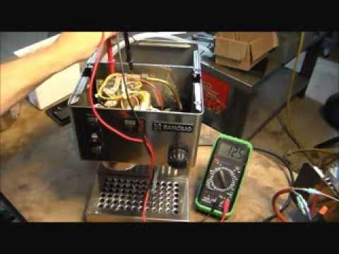 How To Repair A Rancilio Silvia Espresso Machine With A