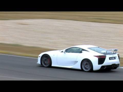 Lexus LFA roadtest