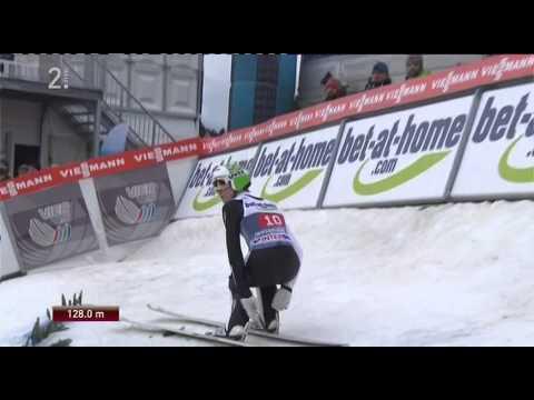 Peter Prevc SLO 128m - Innsbruck 2014 first jump