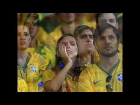 Brazil Fans Crying : Brazil vs Germany world cup 2014