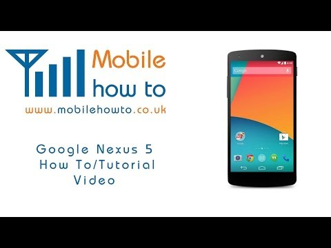 How To Set/Change Voicemail/Answerphone Number -  Google Nexus 5