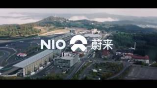 NIO EP9 electric supercar at Nürburgring Nordschliefe