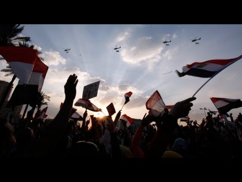 Egypt's anti-government protesters celebrate army's ultimatum