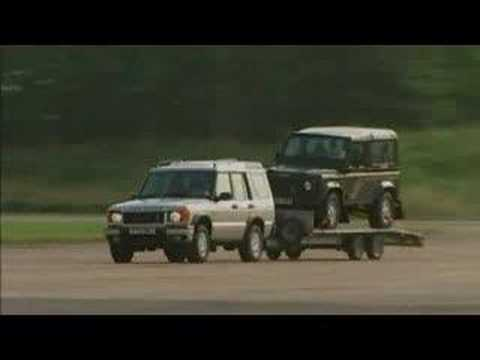 Land Rover Discovery Td5 Ebd Brake Test Youtube