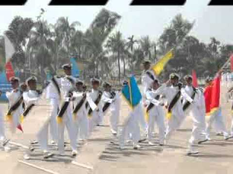 marine academy bangladesh 45th batch passing out.flv