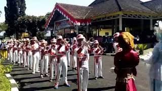 drum band zulfa smp islam 2 pujon 17 agustus 2016 pujon
