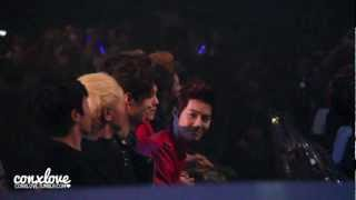 "[MAMA 2012 121130 - Fancam] EXO During B.o.B's ""Nothin' On You"" Performance"